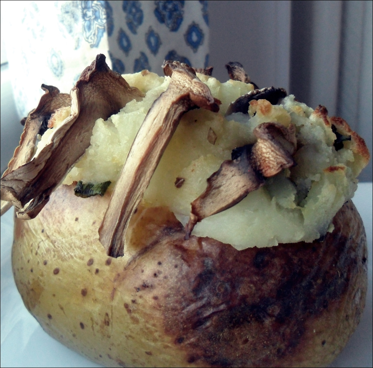 Vegan Twice Baked Potato