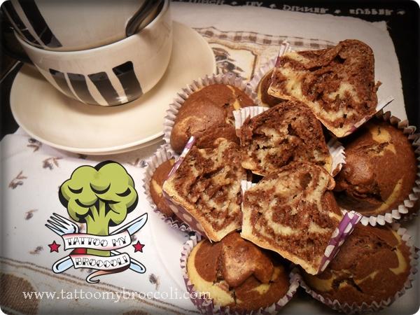 layered muffins