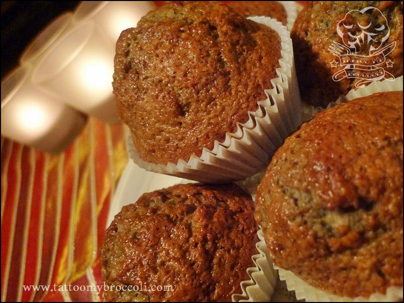 red wine muffins