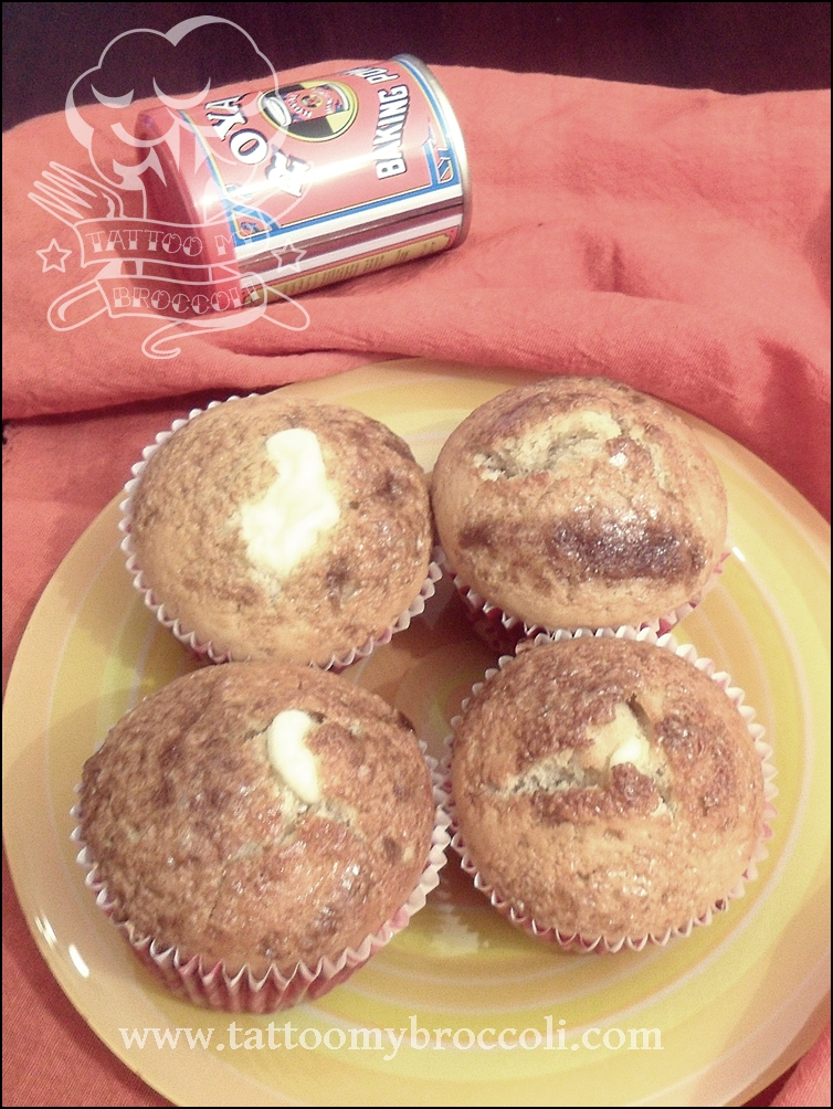 Cream Cheese Filled Muffins