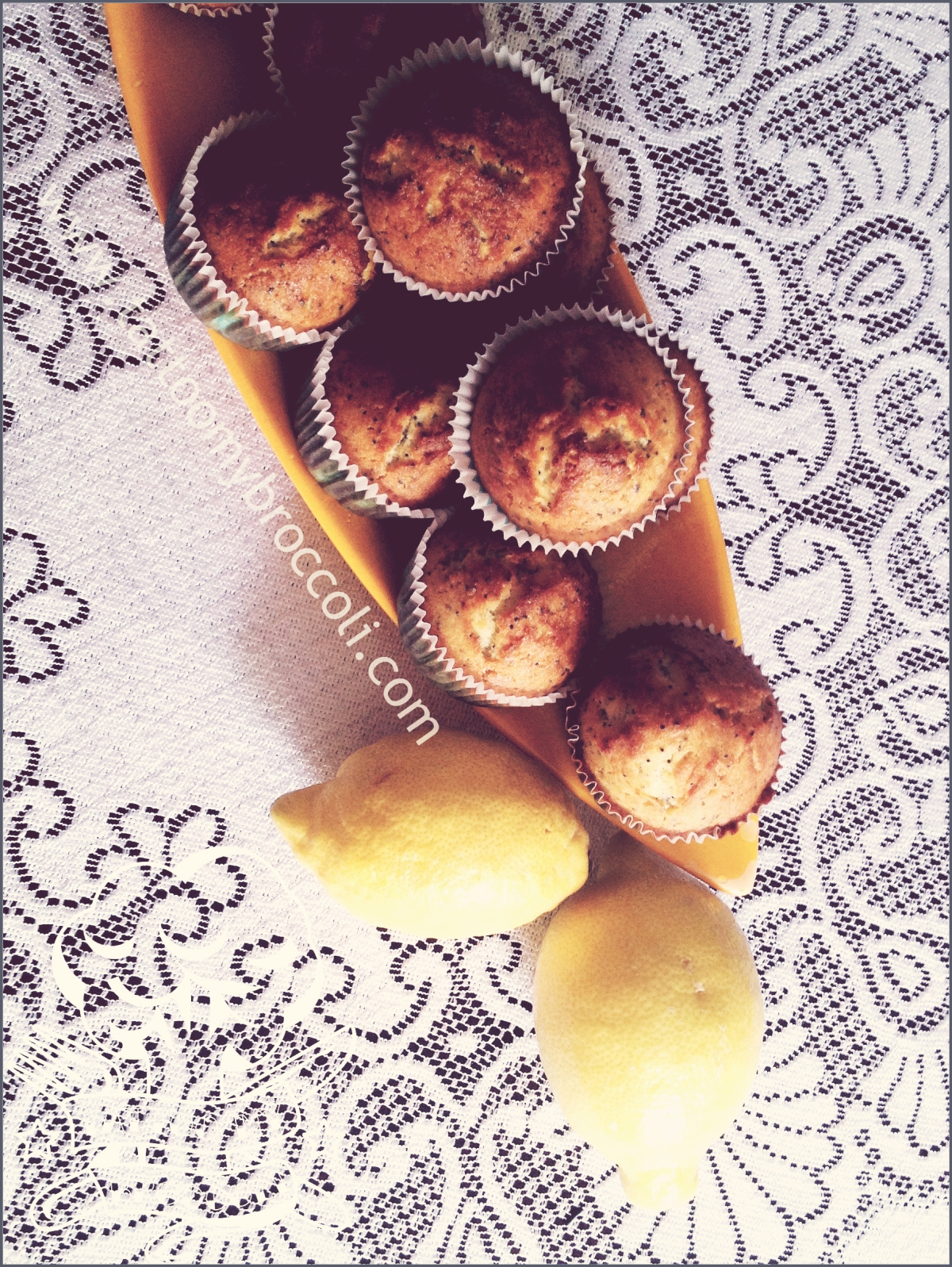 Lemon & Poppy Seed Muffins