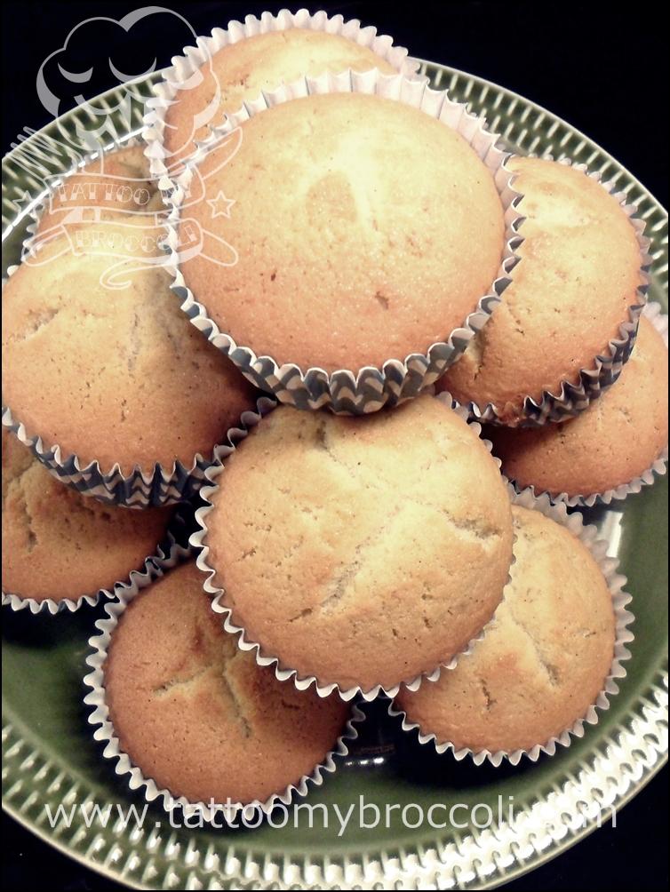 Gluten Free Vanilla BeanMuffins