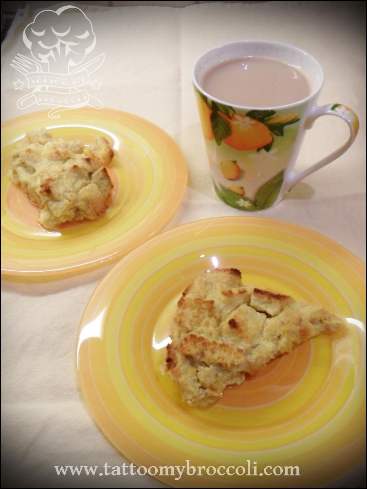 Lemon Sunshine BreadPudding
